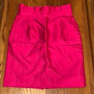 Kate Spade New York Hot Pink Pencil Skirt